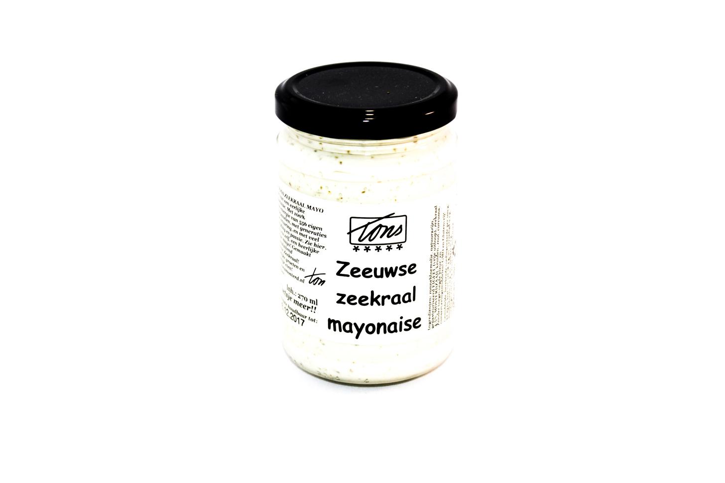 Zeekraalmayonaise