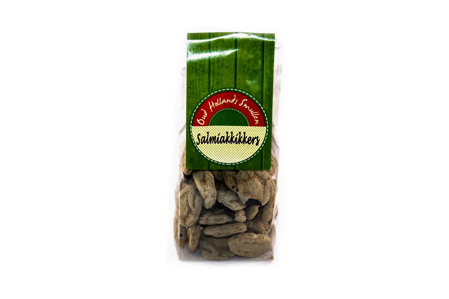 Oud Hollands snoep Salmiakkikkers
