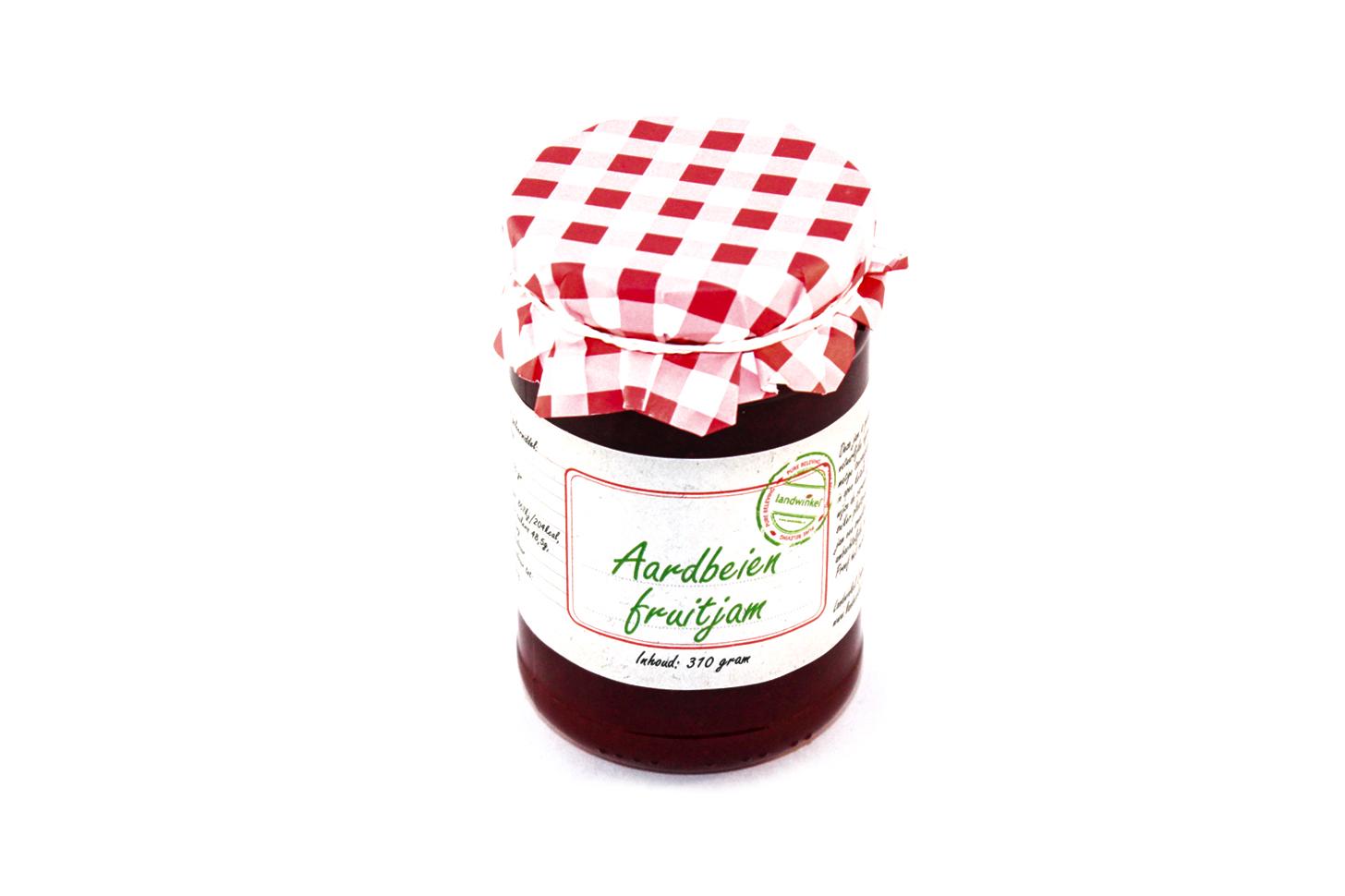 Aardbeien fruitjam