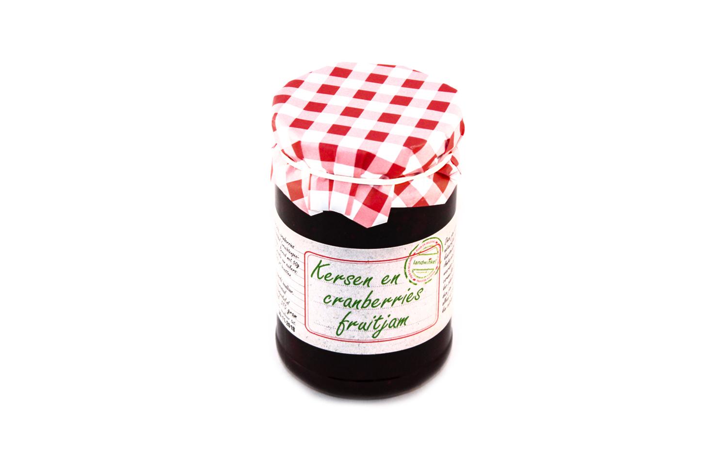 Kersen- cranberry jam