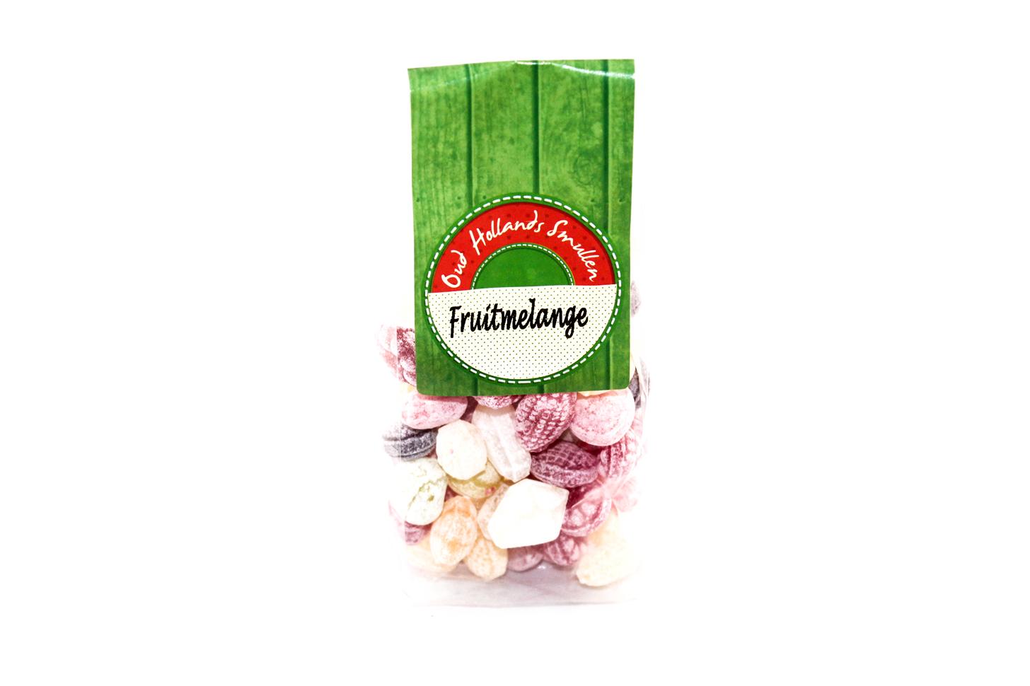 Oud Hollands snoep Fruitmelange