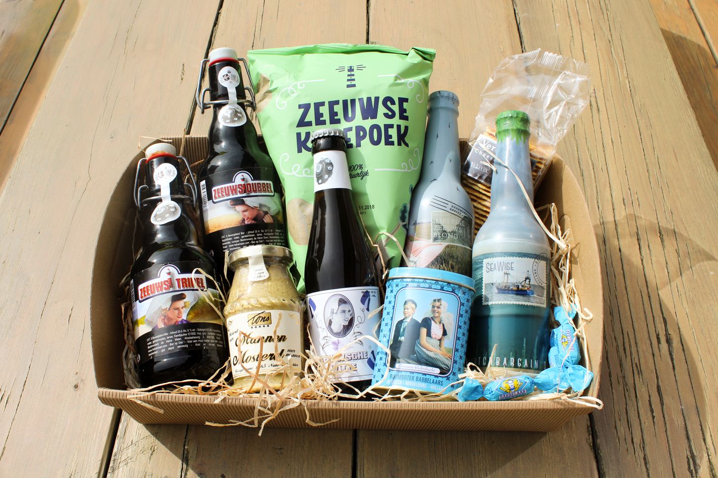 Zeeuws Bierpakket de luxe