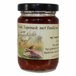 Rode tapenade